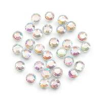 Value Pack Hot Fix Glass Stones Crystal AB 3mm 1000 pcs