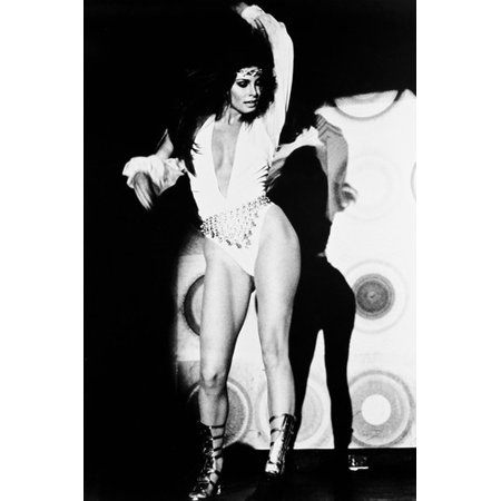 Flareup Raquel Welch 24x36 Poster as go-go dancer dancing on stage in sexy outfit - Gogo Dancer Outfits