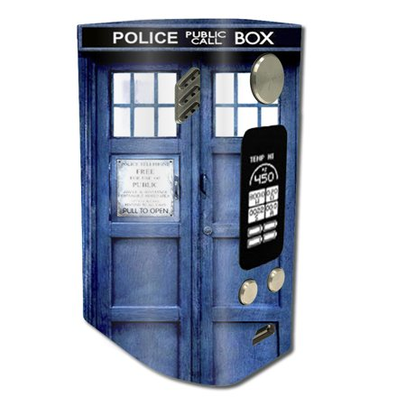 Skin Decal For Wismec Reuleaux Rx300 / Phone Booth, Tardis Call