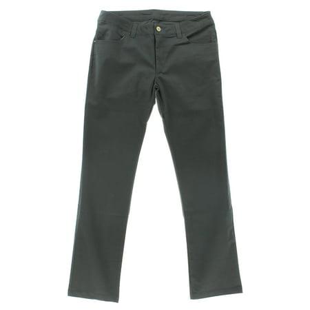 Adidas Mens Silas 5 Pocket Pants Grey 33W32L