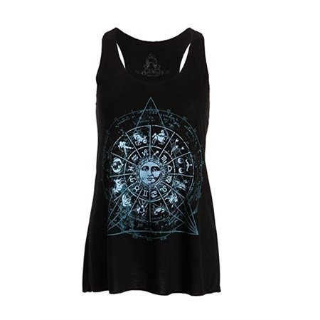 Plus Size Summer Print Women Sleeveless Tank Top Casual T-shirts