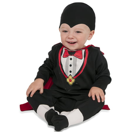 Tiny Vampire Infant Boys Count Dracula Halloween Costume-Inft](Dracula Halloween Theme)