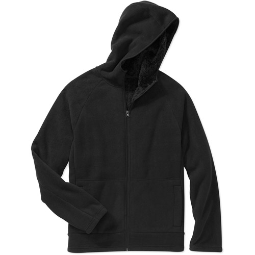 Faded Glory Men's Bonded Micro Fleece Jacket