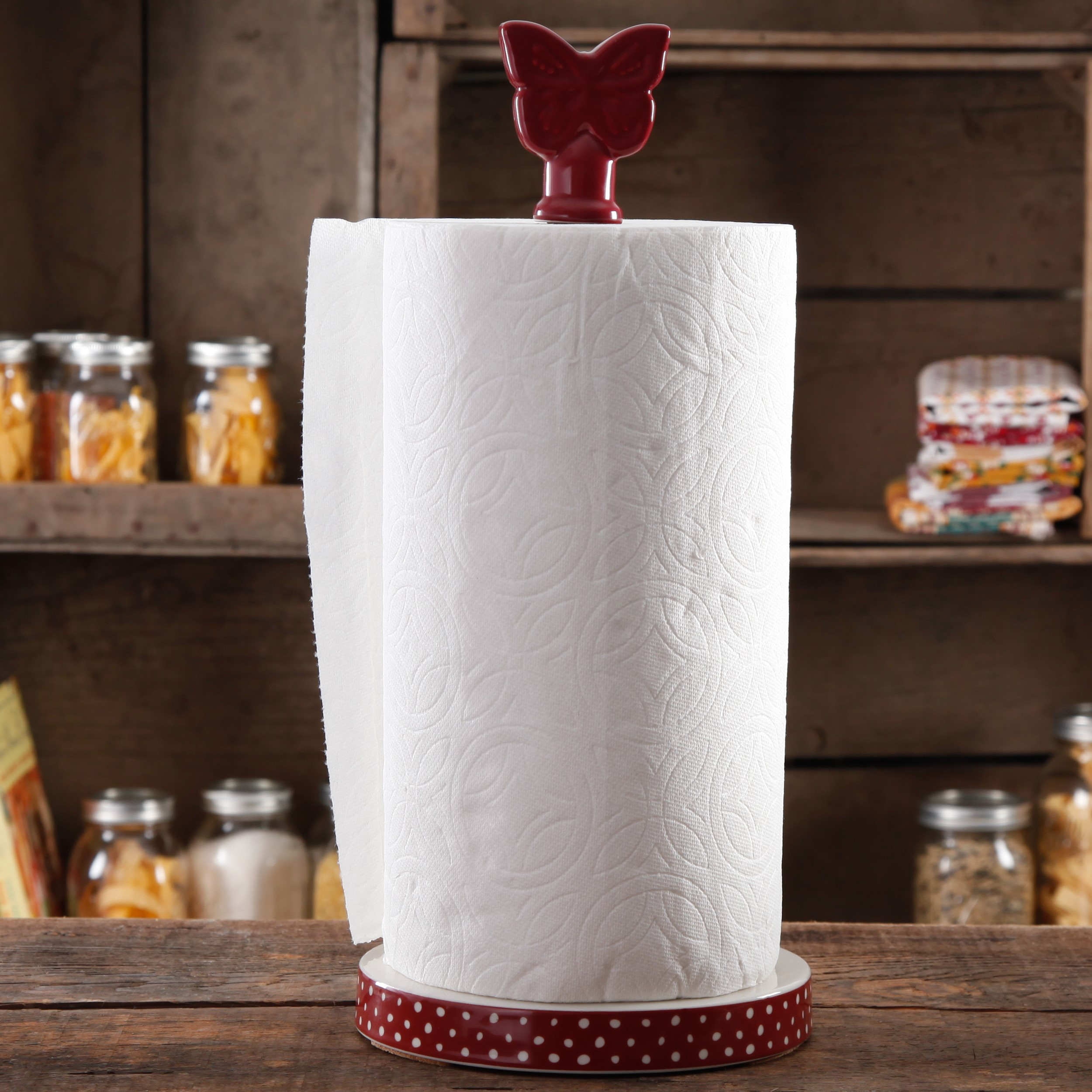 The Pioneer Woman Autumn Harvest Paper Towel Holder, 1.0 CT