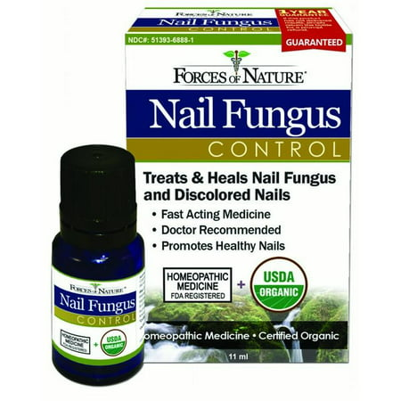 Forces Of Nature Nail Fungus Control, 11 ml - Walmart.com
