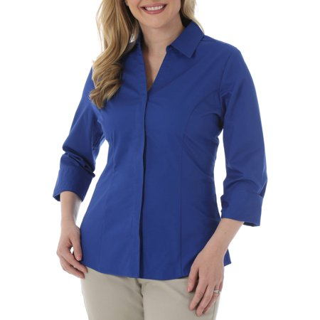 Riders by Lee Women's Classic Career Shirt - Walmart.com