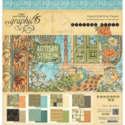 """Graphic 45 Double-Sided Paper Pad, 12"""" x 12"""", 24pk"""