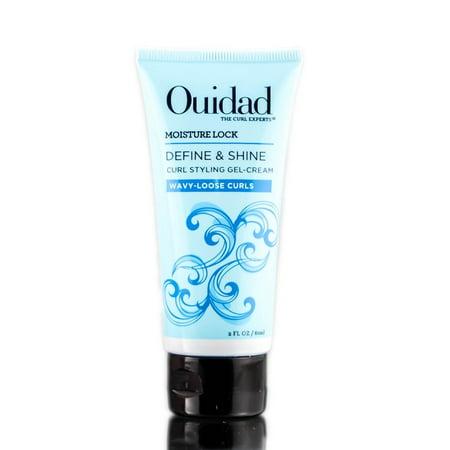 Ouidad Moisture Lock Define & Shine Curl Styling Gel Cream - 2 oz