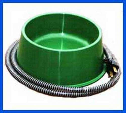QT GRN Heated Pet Bowl 1 Quart, 25 watts, USA, Brand Farm Innovators by Heated Pet Bowls