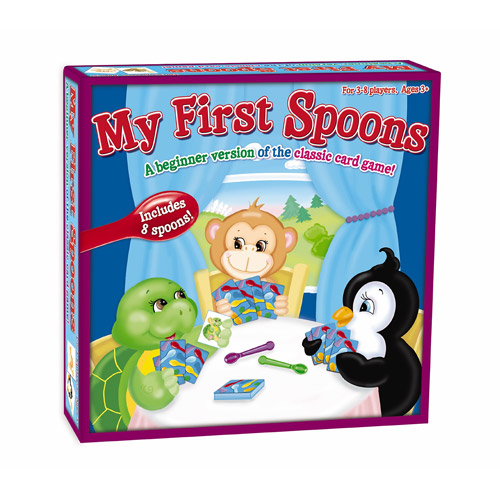 My First Spoons Card Game