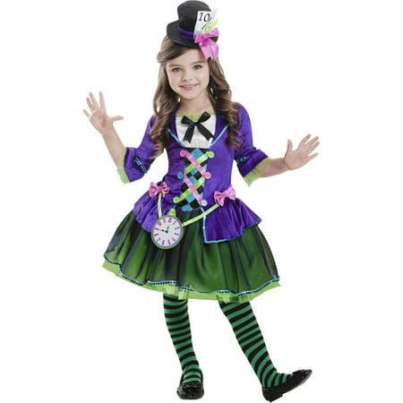 Bad Hatter Child Halloween Costume - Walmart.com