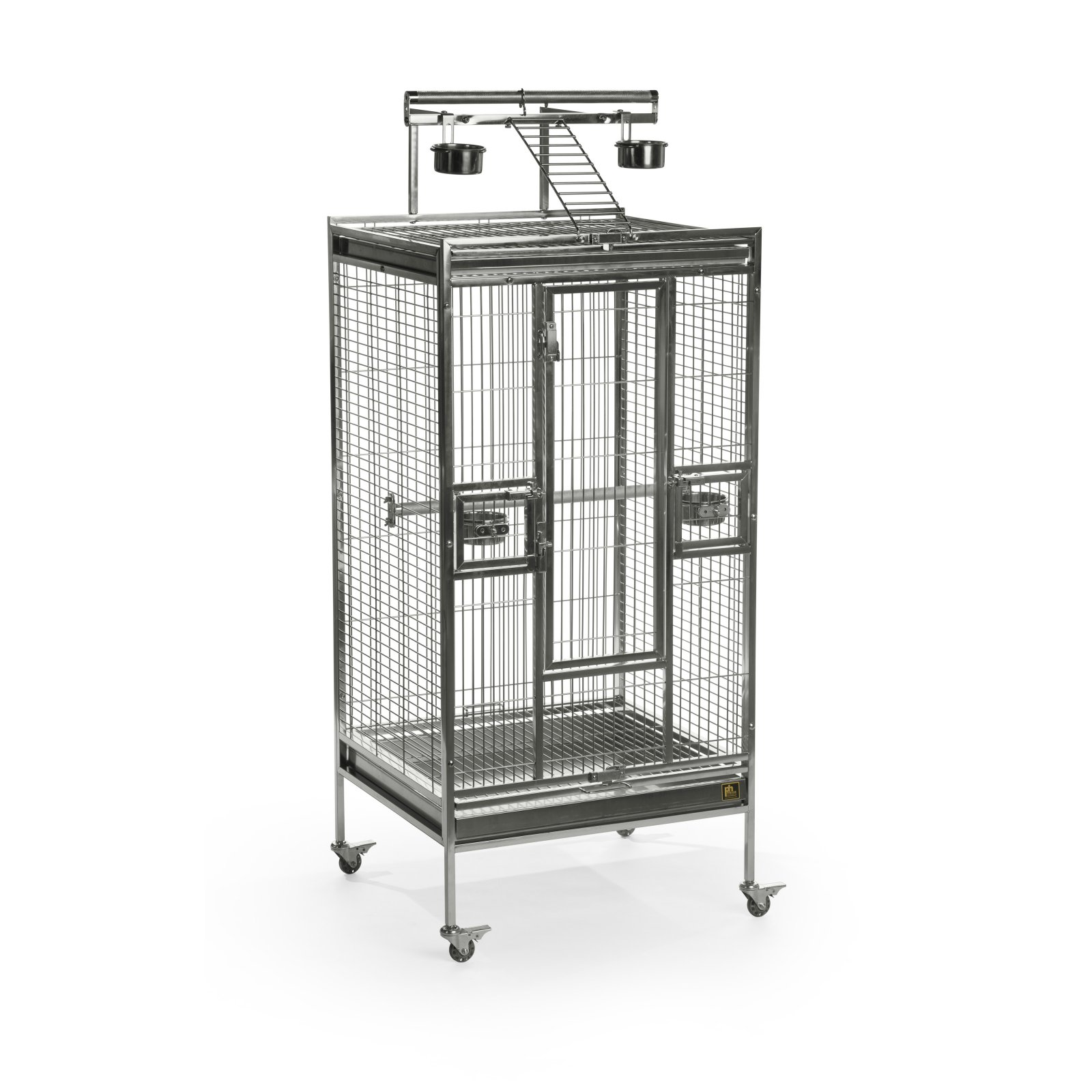 Prevue Pet Products Medium Stainless Steel Playtop Bird Cage 3453