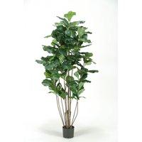 """D&W Silks - 60"""" Potted Fuddle Leaf Fig Tree"""
