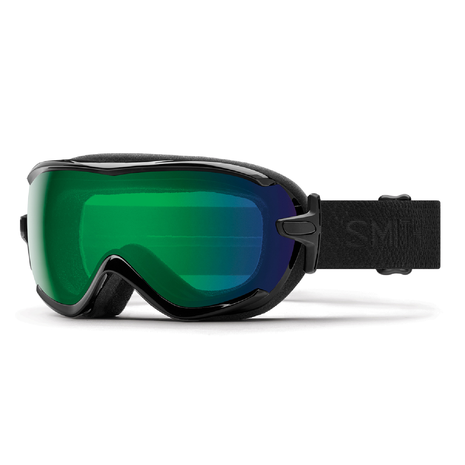 Smith Optics 2018 Virtue (Black Mosaic ChromaPop Everyday Green Mirror) Women's Snowboard Goggles by