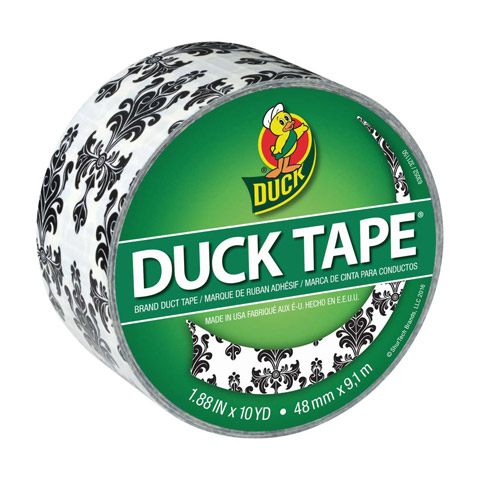 Duck Tape. Baroque. 1.88 in x 10 yd