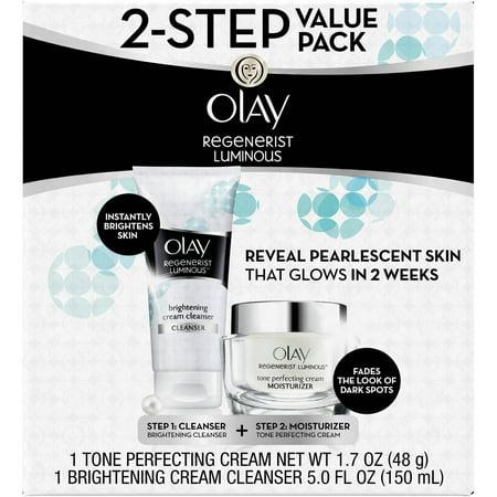 Olay Regenerist Luminous 2-Step Value Pack, 2 pc