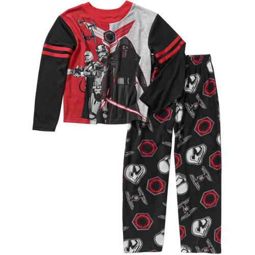 Boys' Licensed 2 Piece Fleece Pant Pajama Sleep Set, Available in 7 Characters