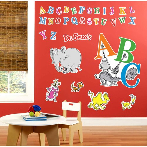 Dr. Seuss ABC Giant Wall Decals