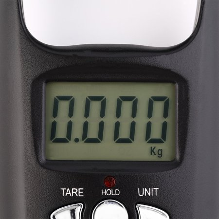 Pocket Portable Mini 50kg LCD Digital Hanging Luggage Weight Hook Scale - image 4 of 8