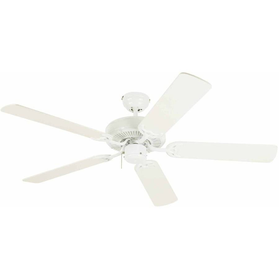 """Westinghouse 7802400 52"""" White Contractor's Choice 5-Blade Indoor Ceiling Fan"""