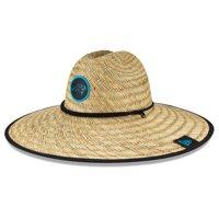 Carolina Panthers New Era 2020 NFL Summer Sideline Official Straw Hat - Natural - OSFA