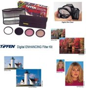 Tiffen 37mm Digital Enhancing Digital Camera Lens Filters Kit - Tiffen Filters