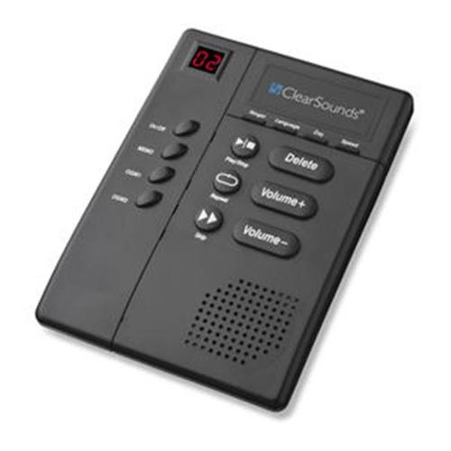 CLEAR SOUNDS CLS-ANS3000 Digital Amplified Answering Machine with