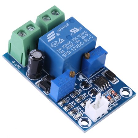 Low Voltage Protection - Yosoo 12V Battery Low Voltage Cut off Automatic Switch On Recovery Protection Module, Undervoltage Control, Low Voltage Cut off Switch
