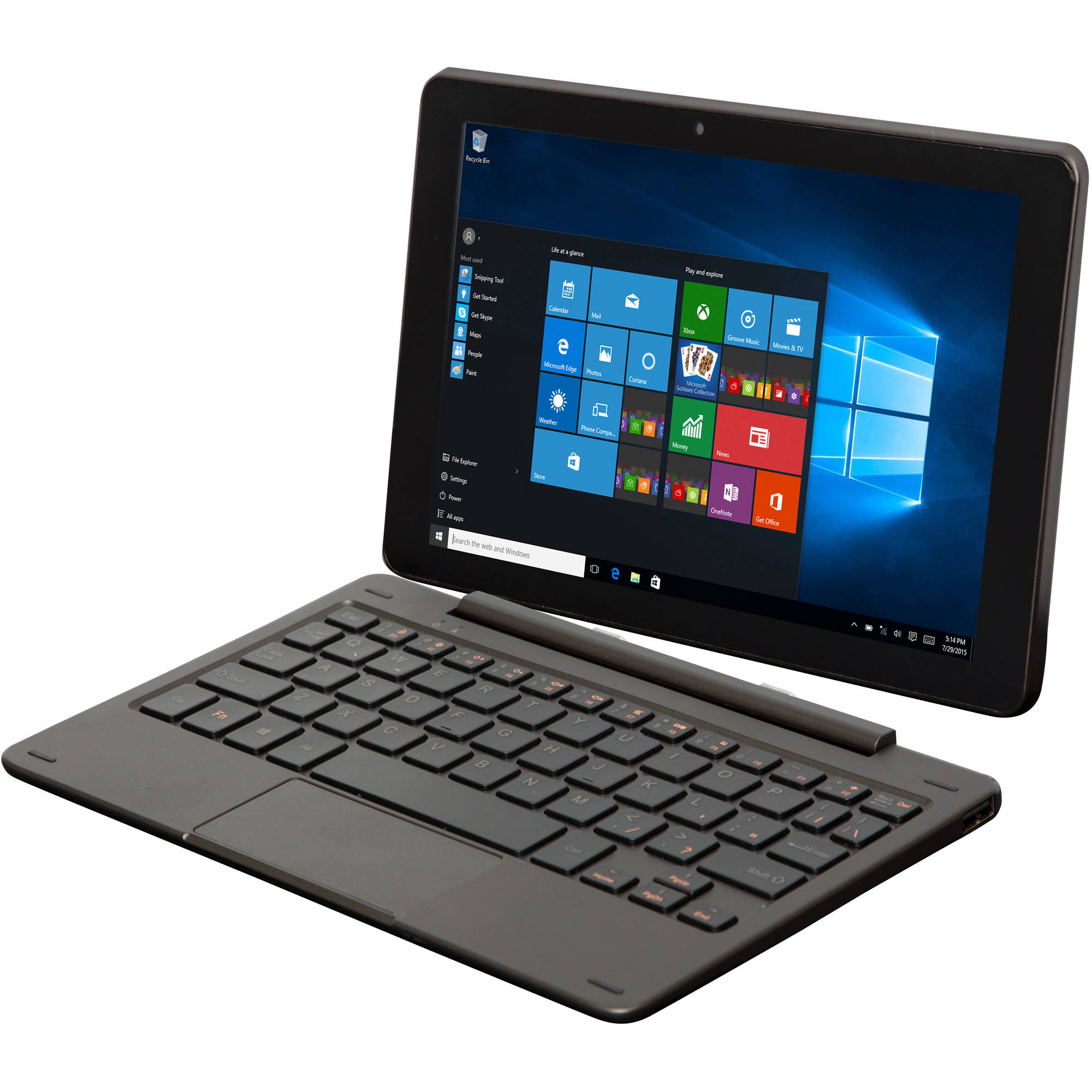 "Nextbook Flexx 8.9"" 2-in-1 Tablet 32GB Intel Atom Z3735G Quad-Core Processor Windows 10"