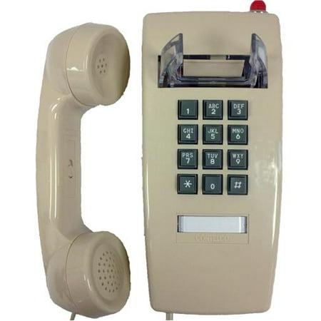 2554 Phone (Cortelco 2554-VOE-27MD-ASH 255444v0e27md Wall Phone W/msg)