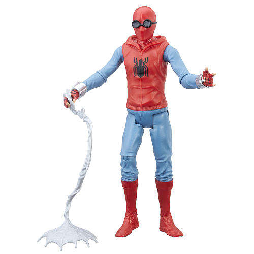 Spider-Man Homecoming Spider-Man Homemade Suit 6 Inch Figure ...