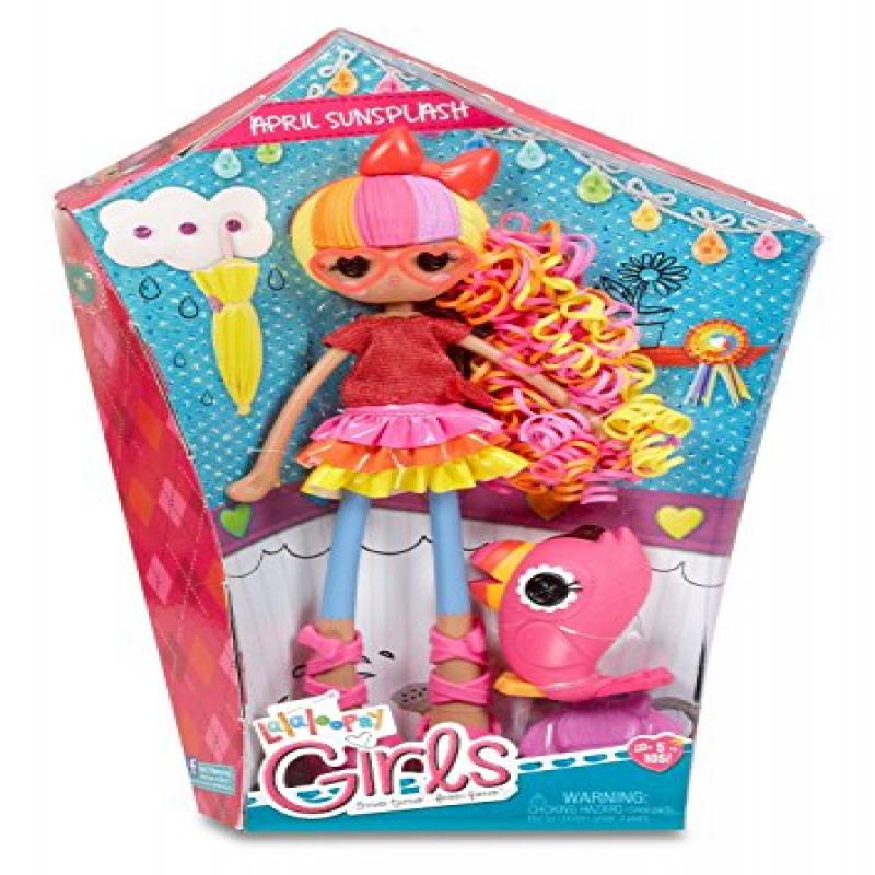 NEW IN BOX Lalaloopsy Mini Doll  APRIL SUNSPLASH Spring Umbrella