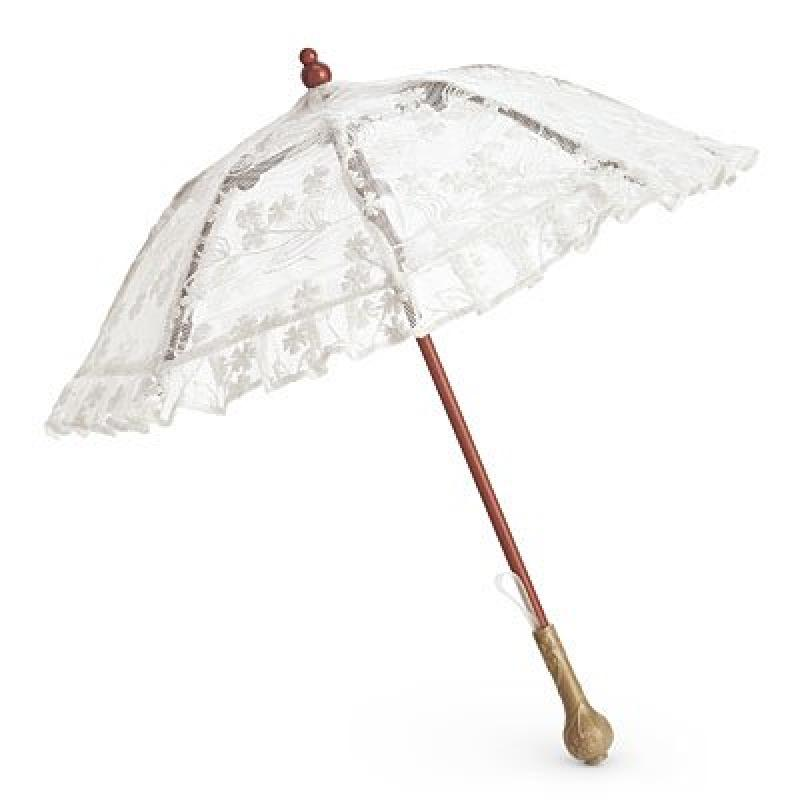 American Girl Beforever Samantha Samantha's Lacy Parasol by