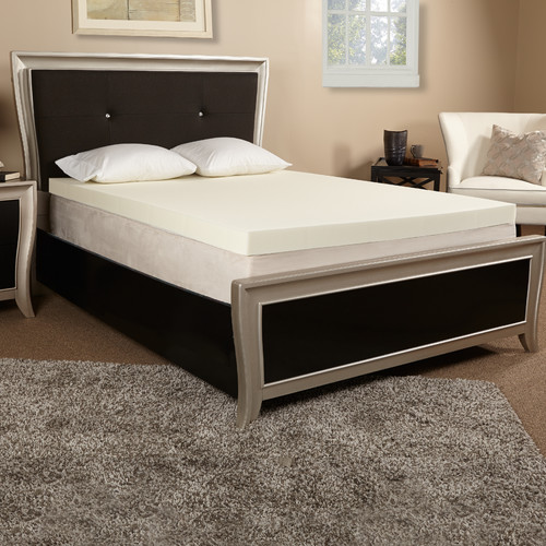 Luxury Solutions 3'' Memory Foam Mattress Topper