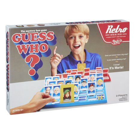 Guess Who? Game Retro Series 1988 Edition - image 3 of 10