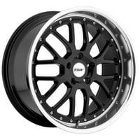 TSW Valencia 20x8.5 5x120 +35mm Gloss Black Wheel Rim