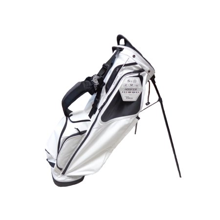 New 2018 Ping Hoofer White Black Golf Carry Stand Bag