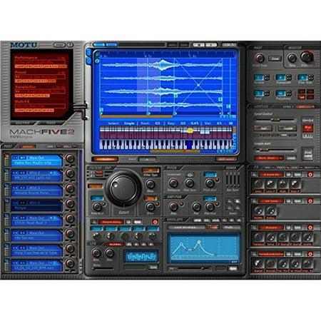 motu machfive 2 sampling software (Motu Machfive Universal Sampler)