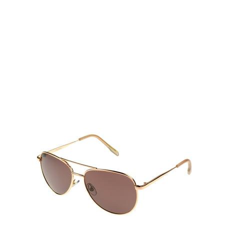 59e08fa96c317 Foster Grant - Women s Aviator Polarized 2 Sunglasses - Walmart.com