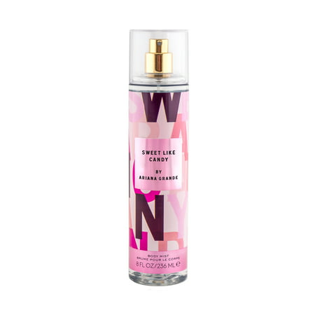 Ariana Grande Sweet Like Candy Fragrance Body Mist for Women, 8.0 fl oz Body Lo Fragrance Sets