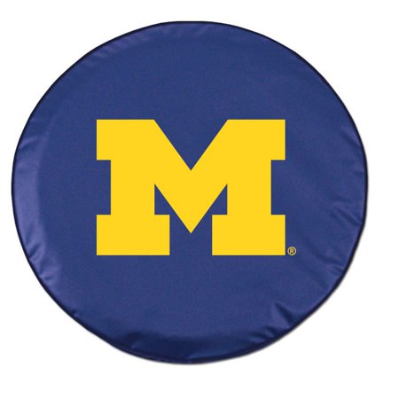 Navy Tire Cover - Michigan Standard Tire Cover (White)