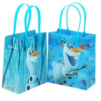 Disney Frozen Olaf Good Quality Reusable Small Goodie Bags 6""