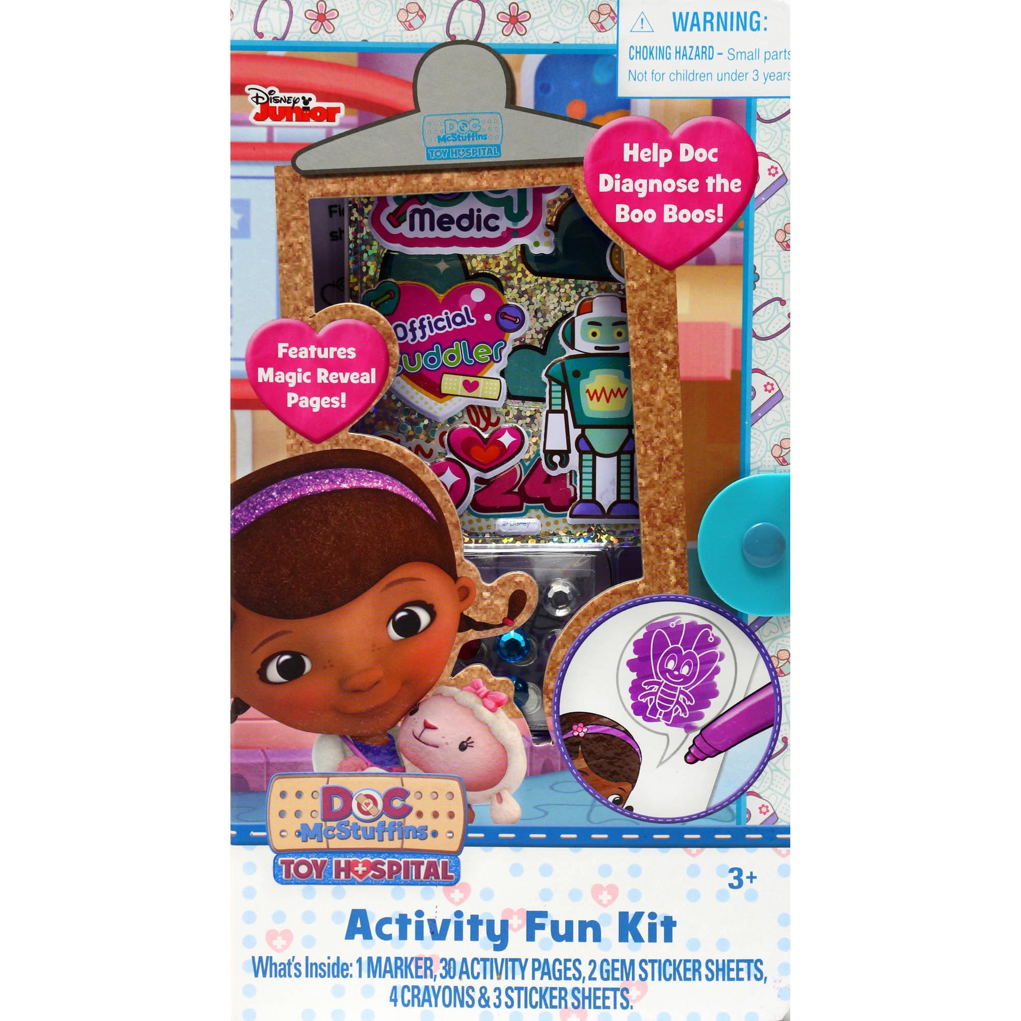 DOC MCSTUFFINS Activity Fun Kit