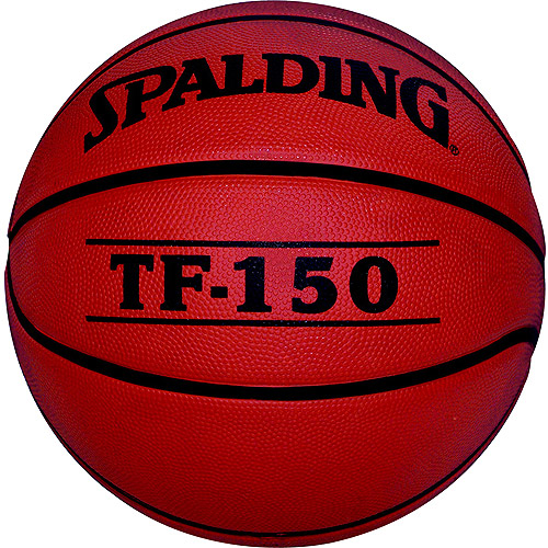 Spalding TF-150 Women's Intermediate Rubber Basketball 28.5""