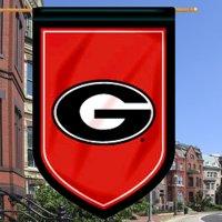 "Georgia Bulldogs 26"" x 39"" Double-Sided Shield Flag - No Size"