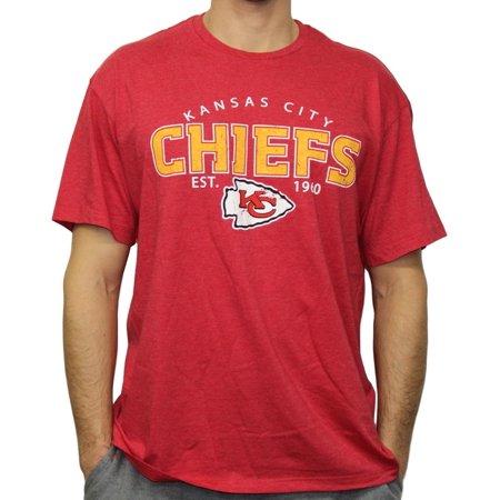 Kansas City Chiefs Nfl G Iii   Playoff   Mens Dual Blend S S T Shirt   Red