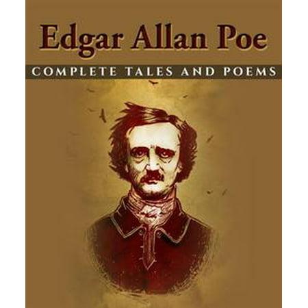 Edgar Allan Poe: Complete Tales and Poems - eBook (Edgar Allan Poe Halloween Poems)