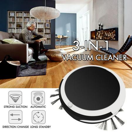 3-in-1 Automatic Smart Robotic Vacuum Cleaner Robot Home Floor Sweeping