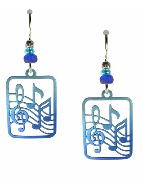 d243513ff02c Product Image BLUE MUSIC NOTES Hypo-Allergenic Earrings