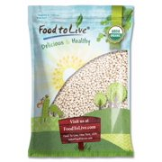 Organic Navy Beans, 5 Pounds - Non-GMO, Kosher, Raw, Vegan, Bulk by Food to Live